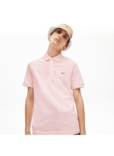 Lacoste Erkek Regular Fit Tişört PH5522.T03 Pembe